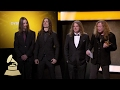 Megadeth Wins Best Metal Performance | Acceptance Speech | 59th GRAMMYs