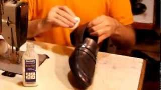 Ремонт обуви. Уход за обувью. Пегие ботинки часть 2.