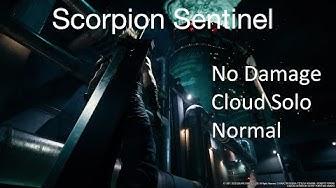 FFVII Remake Demo - Scorpion Sentinel (No Damage/Cloud Solo/Normal)
