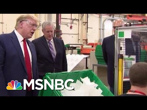 Premature Arizona Reopening Coincided With Trump Publicity Visit | Rachel Maddow | MSNBC
