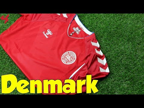 World Cup 2018 Hummel Home Denmark Jersey Unboxing + Review from Subside Sports