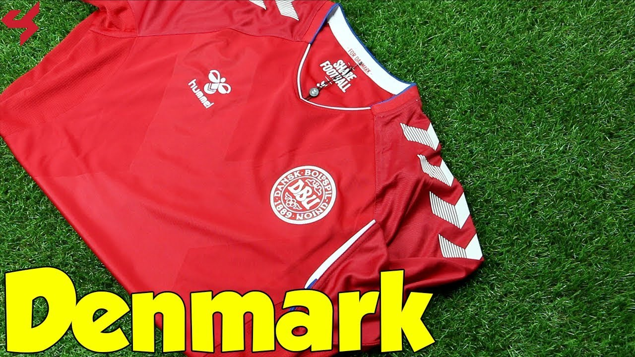 56e47cd1d World Cup 2018 Hummel Home Denmark Jersey Unboxing + Review from Subside  Sports