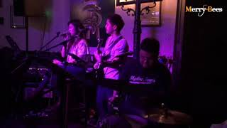 Merry Bees -  Trella singing Geek in the Pink (Singapore Live Band/Wedding Singers)