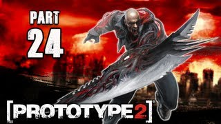 Prototype 2 Walkthrough - Part 24 Infected Hive PS3 XBOX PC (P2 Gameplay / Commentary)