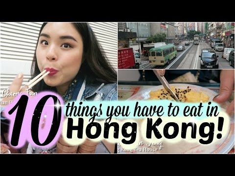 10 Foods You Can't Miss in Hong Kong! | Singaporean Tasting Hong Kong Food | roseannetangrs