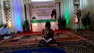 Video M. Aufal Marom siswa kelas 3 MTs Terpadu Daruttauhid Jepara, Qiro' saat acara Maulid Nabi Muhammad. download MP3, 3GP, MP4, WEBM, AVI, FLV Agustus 2018