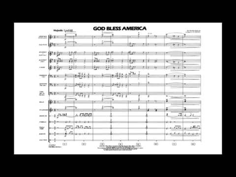 God Bless America by Irving Berlin/arr. Jay Bocook