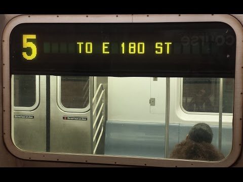 On Board East 180th Street Bound R142 5 Train From 149th Street Grand Concourse To E 180th Street Youtube