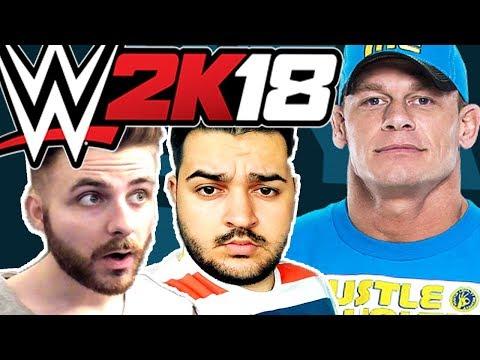 ECHIPA CU IRAPHAHELL CONTRA LUI JOHN CENA - WWE 2K18 !