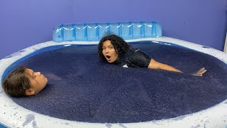 Last To Leave the BLUE Slime Pool wins $10,000