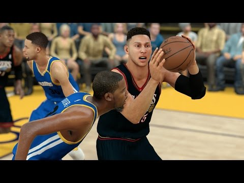 Can A Team Of NBA Rookies Defeat The Top Players In The NBA? NBA 2K17 Challenge