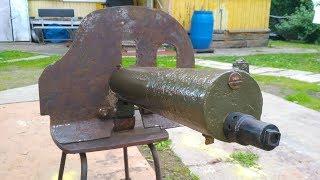 Восстановление пулемета ''Максима'' и передача его в музей.