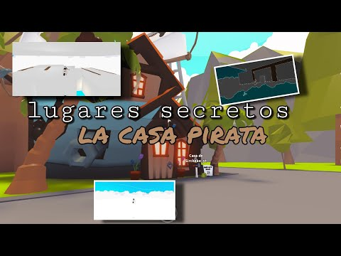 Roblox l Lugares secretos de la nueva casa pirata de Adopt me