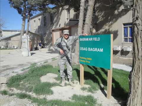 Sounds of Bagram Airfield Afghanistan.