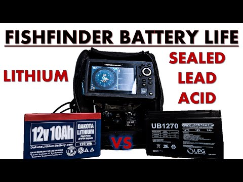 Fishfinder Battery Life: Lithium Vs Sealed Lead Acid