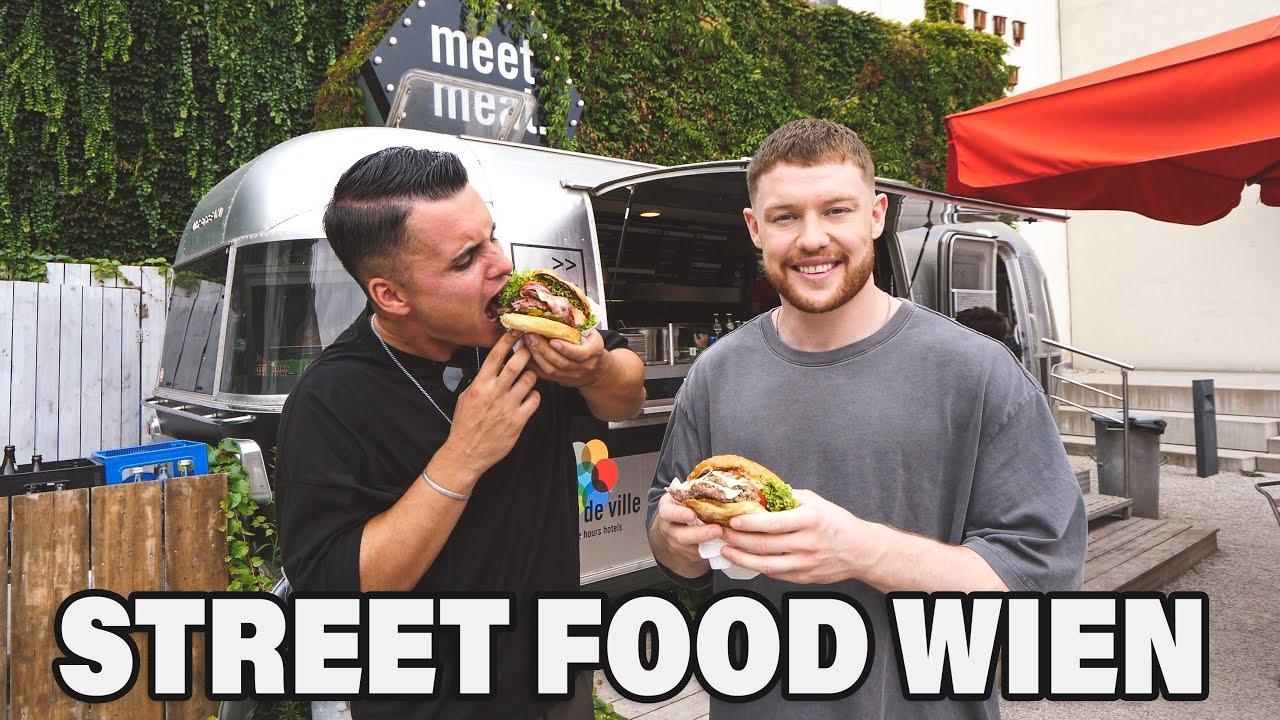 Die ULTIMATIVE STREET FOOD TOUR durch Wien mit @The Franklin