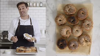 Thomas Makes Homemade Bagels - Kitchen Conundrums with Thomas Joseph