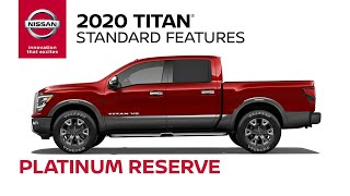 homepage tile video photo for 2020 Nissan Titan Platinum Reserve Walkaround & Review