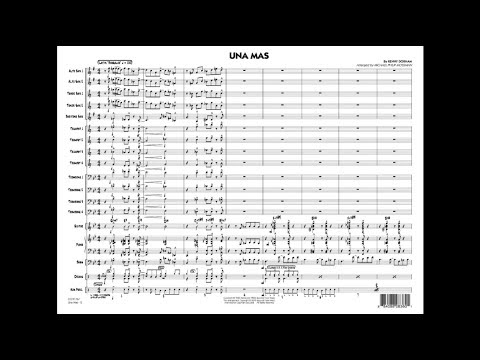 Una Mas by Kenny Dorham/arr. Michael Philip Mossman