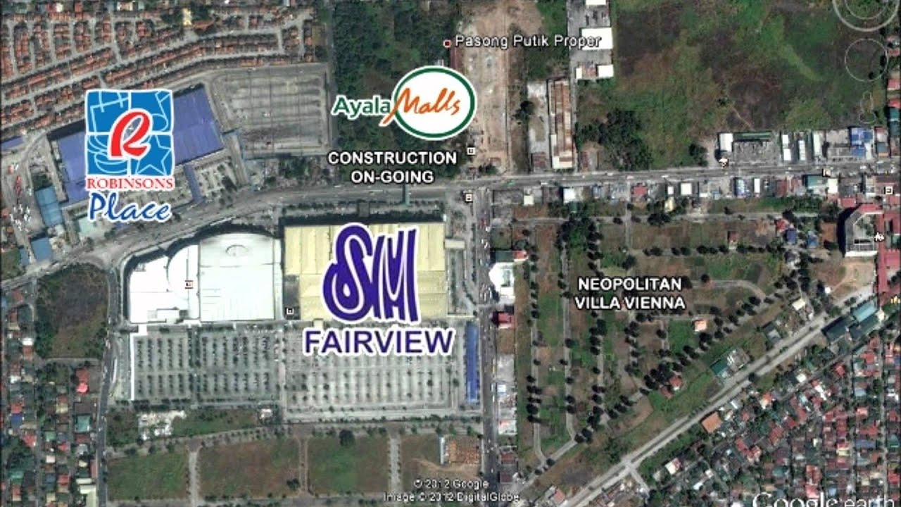 LOT FOR SALE Walking Distance To SM Fairview Robinsons