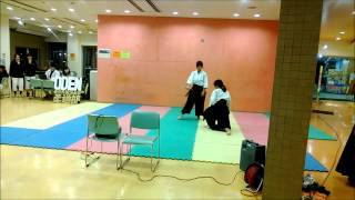 Aikido Demonstration - Tokyo University of Foreign Studies