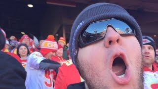 yelling madman irl chiefs game with jahova