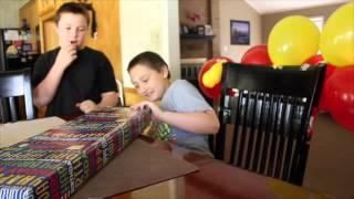 Trevors 9th Birthday Nerf