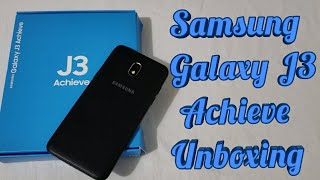 Samsung Galaxy J3 Achieve Unboxing & Detailed First Look