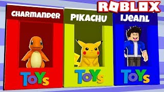 ROBLOX-TOYS FACTORY POKEMONS (Toy Tycoon)