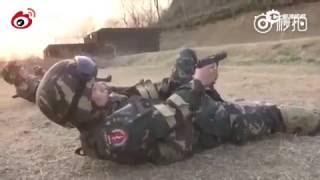惊呆了!中国特种兵顶级枪法!顶级训练!