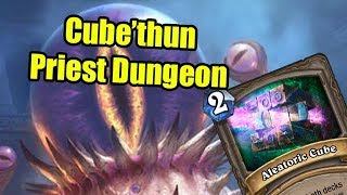 Hearthstone: Finally Winning Priest Dungeon with Cube