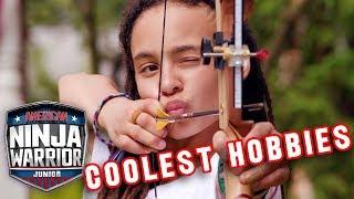 Junior Ninjas With the COOLEST Hobbies! | American Ninja Warrior Junior | Universal Kids