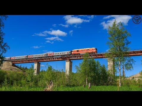 5 самых длинных мостов Северной железной дороги.