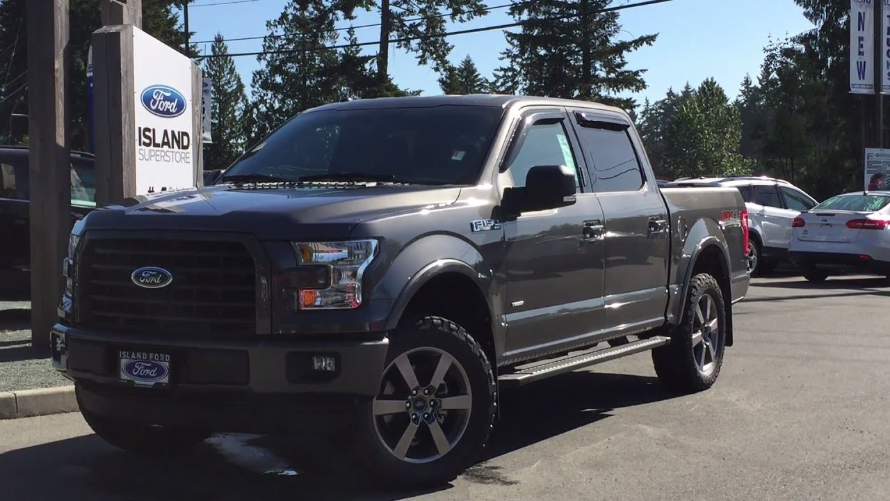 2016 ford f 150 xlt fx4 supercrew 4x4 nav review island ford youtube. Black Bedroom Furniture Sets. Home Design Ideas