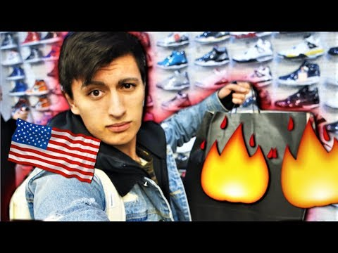 SNEAKER SHOPPING IN NEW YORK CITY! YOU WON'T BELIEVE WHAT I GOT! (2 PAIRS)