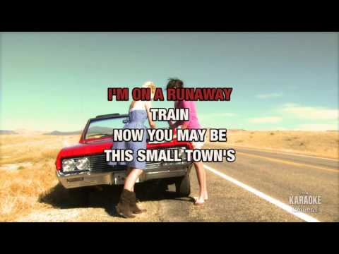 Runaway Train in the style of Dawn Sears | Karaoke with Lyrics