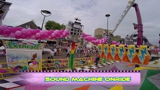 Sound Machine Onride Clip Kermis Tilburg 2016 by kirmesmarkus