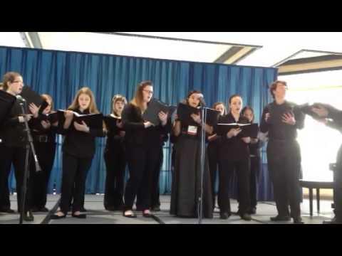 LCMS chorus performing at Tampa convention center