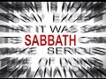 Excuses For Not Keeping the Sabbath