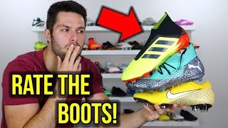 RATING EVERY 2018 WORLD CUP FOOTBALL BOOT!