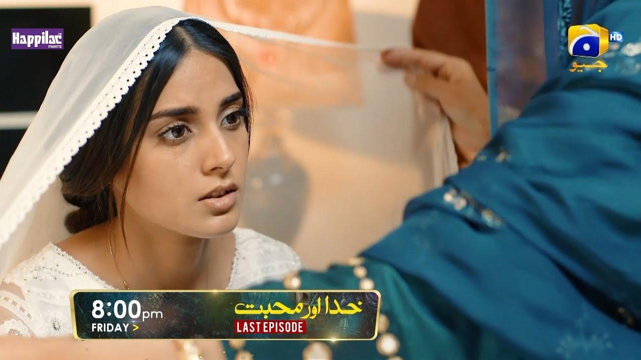 Khuda Aur Mohabbat | Last Episode Promo - Digitally Presented by Happilac Paints | Friday at 8:00 PM