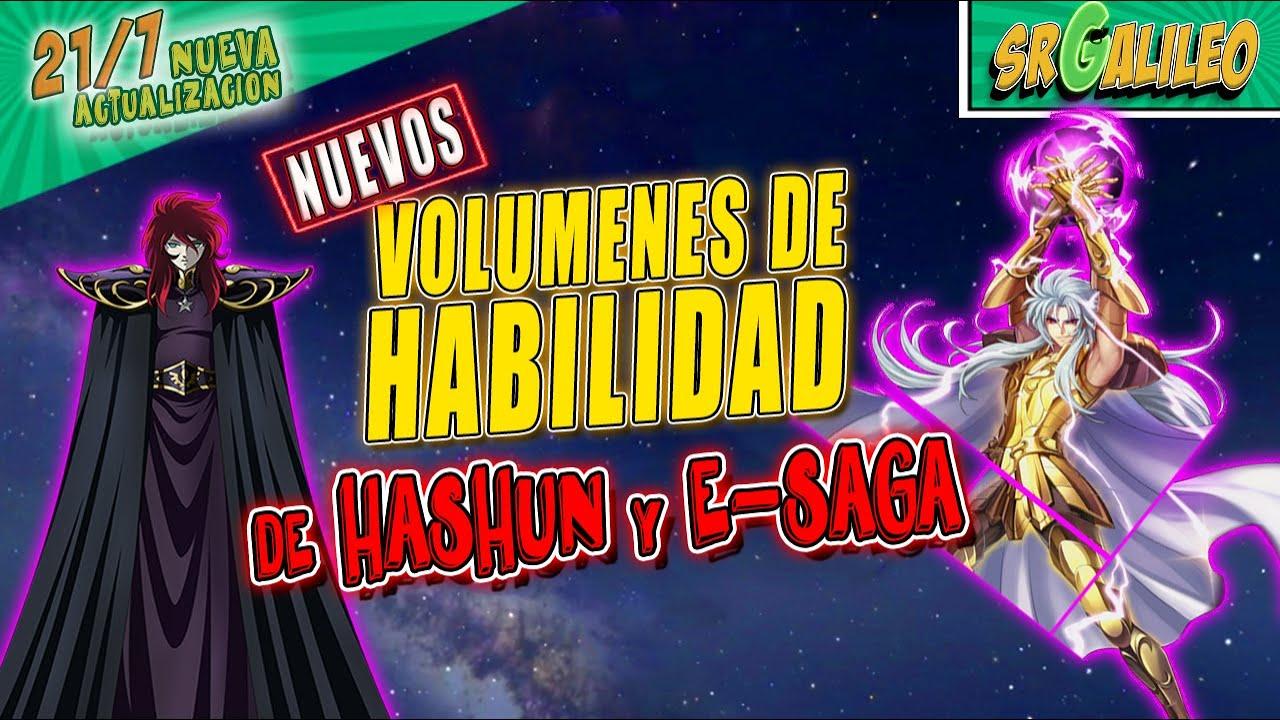 Volumen de HABILIDAD de HASHUN y EVIL SAGA ► Eventos de INTERCAMBIO [Saint Seiya Awakening] KOTZ