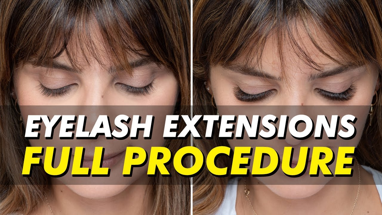 247 Beauty With Eyelash Extensions Eye Design New York Youtube