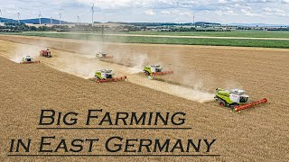 🇩🇪 Big Farming in East Germany 2020  -  BEST OF 2020 ▶ Agriculture Germanyy