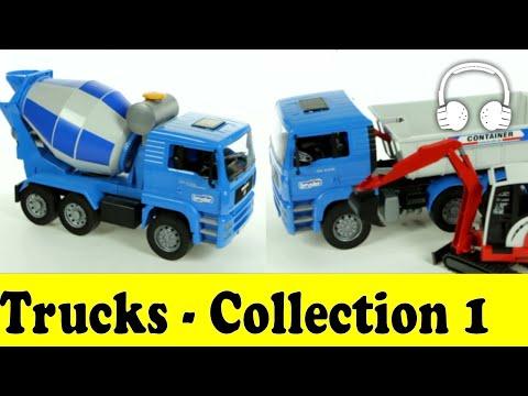 Trucks | Family Sing Along - Muffin Songs - грузовик