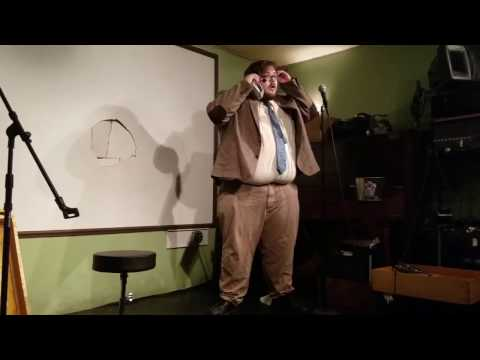 Comedian Trips On Stage, Goes Through Wall