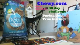 Chewy.com | 30 Day Challenge | Final Thoughts | Purina One True Instinct