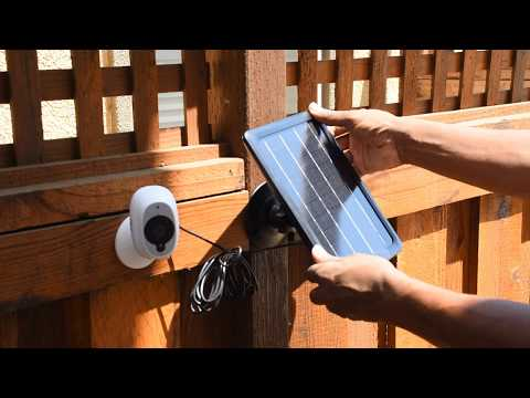 Swann Solar Panel For Swann Smart Wireless Security Cameras Unboxing & Review No More Recharging