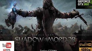 La Tierra Media: Sombras de Mordor PC 1080p - Español - GamePlay - Frame Rate GTX960