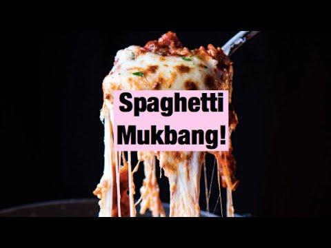 Spaghetti mukbang!